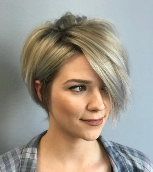 50 Mind,Blowing Simple Short Hairstyles for Fine Hair 2019